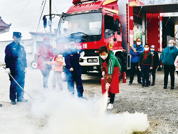 消防安全送到百姓家